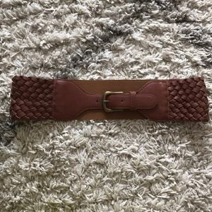 Forever 21 brown thick belt